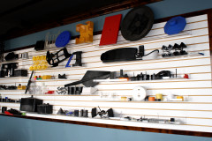 Collection of Parts created with Injection Molding
