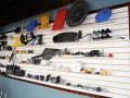 display wall of our injection molding company