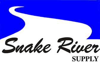 Logo for snake river supply
