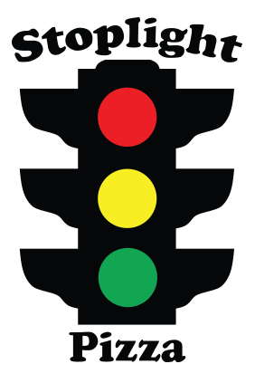 Logo for Stoplight Pizza