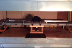 Thermoforming machine in our Idaho Falls shop